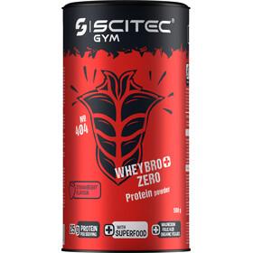 SCITEC Whey Bro+ Zero Protein Powder 500g, Strawberry